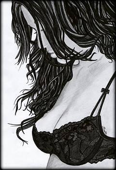 Beautiful Girl by Saki Art