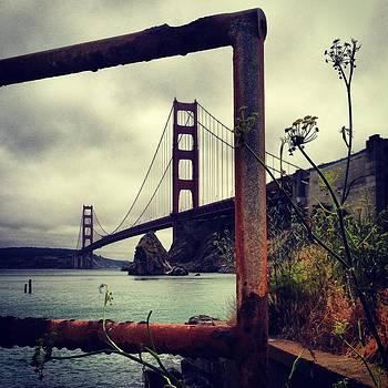 Beautiful Golden Gate by Virginia Cortland