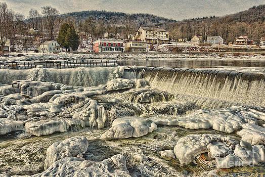 Beautiful Salmon Falls by Thierry Borcy