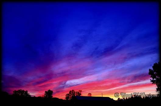 Beautiful Sunset by Terri K Designs