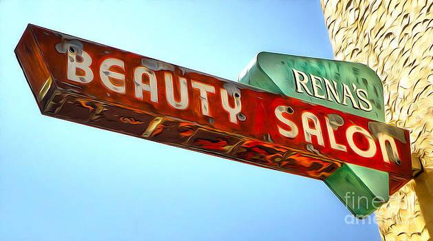 Gregory Dyer - Beauty Salon Sign