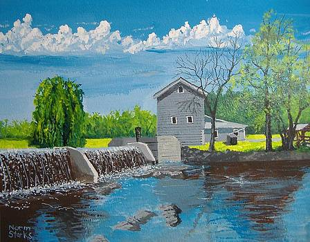Beckman Mill Pond by Norm Starks