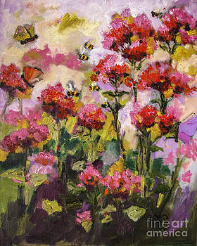 Ginette Callaway - Beebalm and Bees