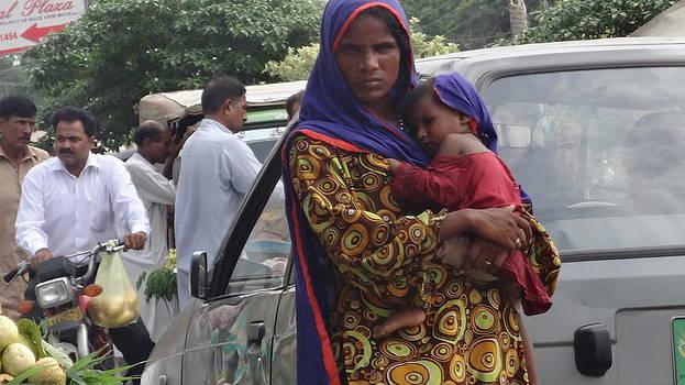 Beggar in Making  by Qamar Riaz