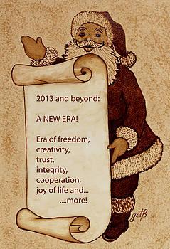 Begining of a New Era by Georgeta  Blanaru