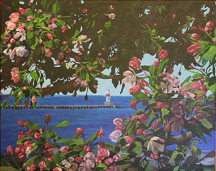 Beginnings of Summer at the Waterfront by Wendy Shoults