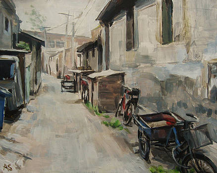 Beijing Hutong by Annie Salness