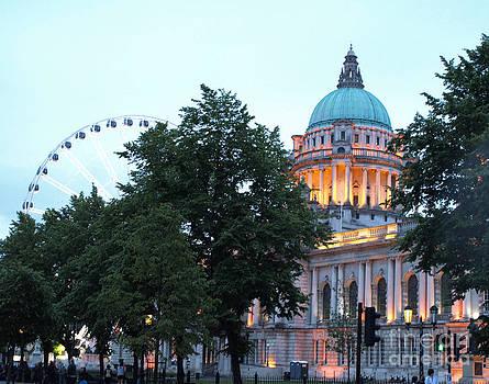 Belfast City Hall by Carolyn Burns Bass