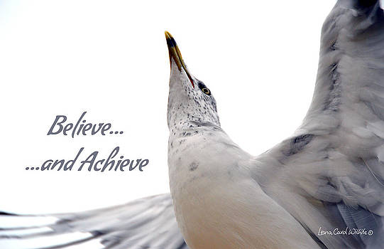 Believe And You Can Achieve by Lena Wilhite