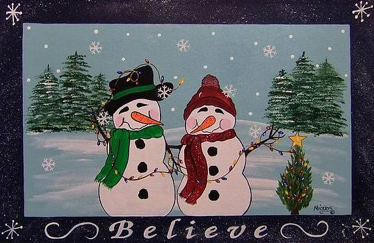 Believe by Cindy Micklos