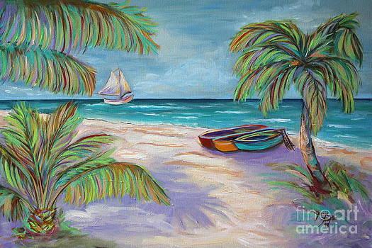 Belize Beach by Jeanne Forsythe