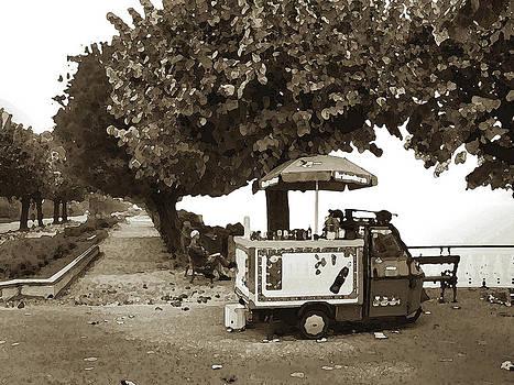 Bellagio Hot dog Cart by Michael Fahey