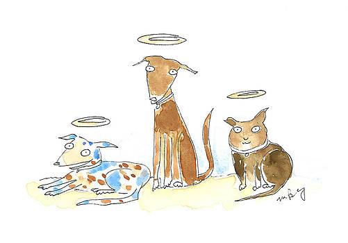 Beloved Pups by Molly Brandenburg