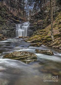 Below Big Falls by Aaron Campbell