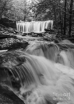 Below Oneida Falls by Aaron Campbell