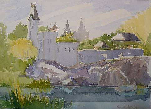 Belvedere Castle Central Park NY by Margaret Montgomery