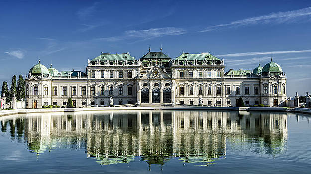 Belvedere Palace by Oleksandr Maistrenko