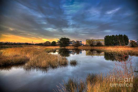 English Landscapes - Bembridge Lagoon