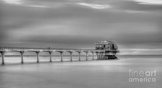 English Landscapes - Bembridge Lifeboat Station bw
