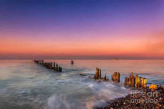 English Landscapes - Bembridge Wave Break