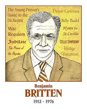 Bemjamin Britten by Paul Helm