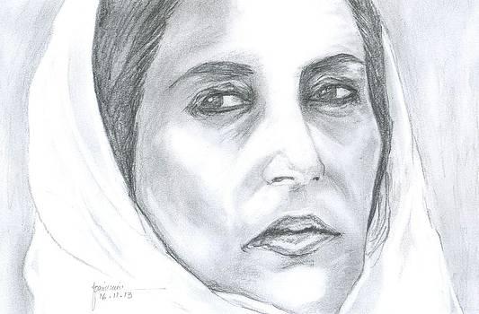 BeNazir Bhutto by Foqia Zafar
