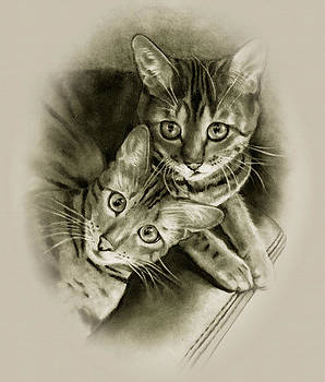 Joyce Geleynse - Bengal Cat Couple