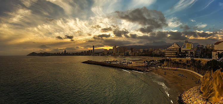 Benidorm Sunset by Martin Smolak