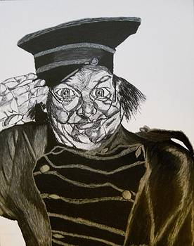 Benny Hill by Ron Anthony