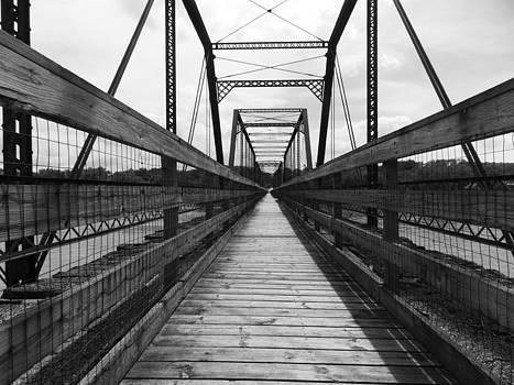 Bentonsport Bridge by Mark Kime
