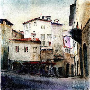 Bergamo. Piazza Mercato delle Scarpe by Viacheslav Rogin