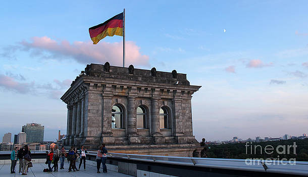 Gregory Dyer - Berlin - Reichstag roof - no.09