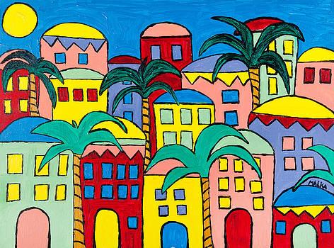 Bermuda Palms by Marlene MALKA Harris