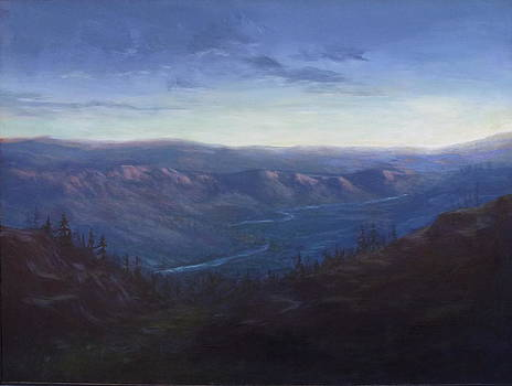Bethel Ridge Sunrise by Charles Smith
