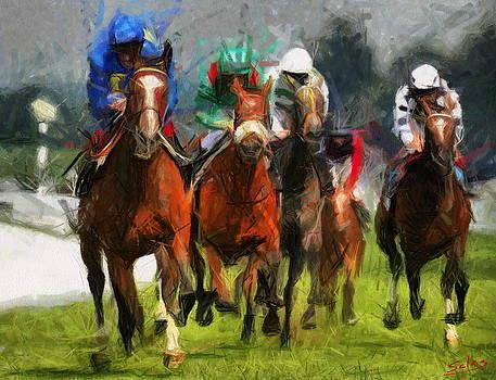 Betting on Blue by Francisco Sanchez Salas