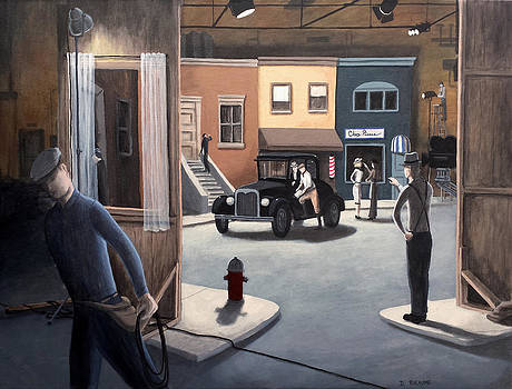 Between  Takes by Dave Rheaume