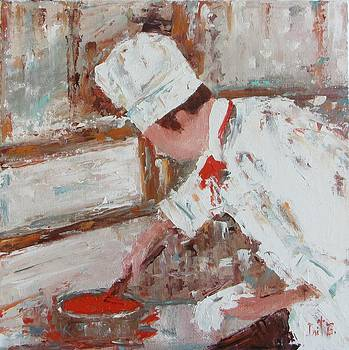 Beurre Rouge Sauce by Irit Bourla