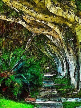Beverly Hills Jungle by Cary Shapiro