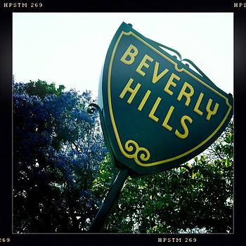 Beverly Hills Sign by Nina Prommer
