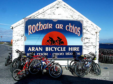 Joe Cashin - Bicycle hire on the Aran Islands