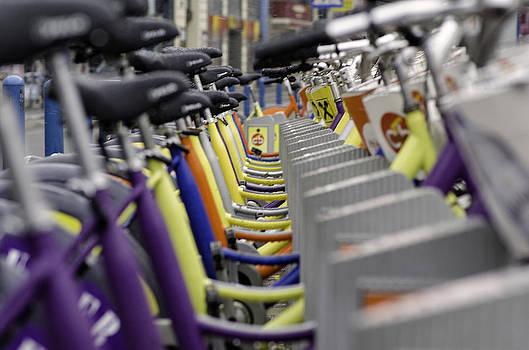 Bicycles by Oleksandr Maistrenko