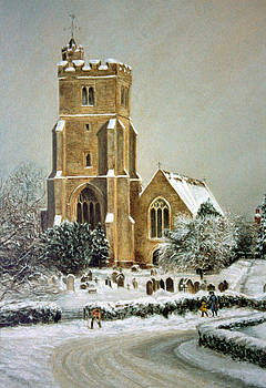 Biddenden Church by Rosemary Colyer
