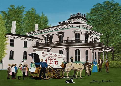 Bidwell Mansion - Creekside by Clinton Cheatham