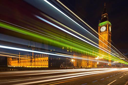 Adam Pender - Big Ben and Bus Blur