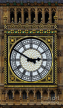 James Brunker - Big Ben portrait