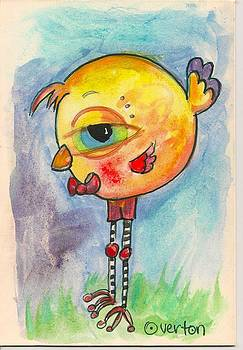 Big Eyed Birdy by Shelley Overton