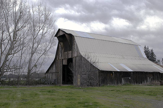 William Havle - Big Gray Barn in Marysville1