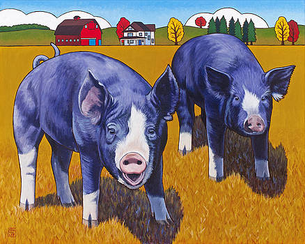 Big Pigs by Stacey Neumiller