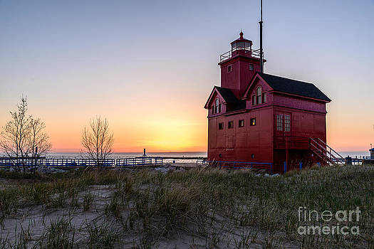 Big Red Lighthouse by Patrick Shupert