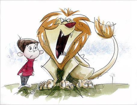 Big Roar Lion by Andrew Fling